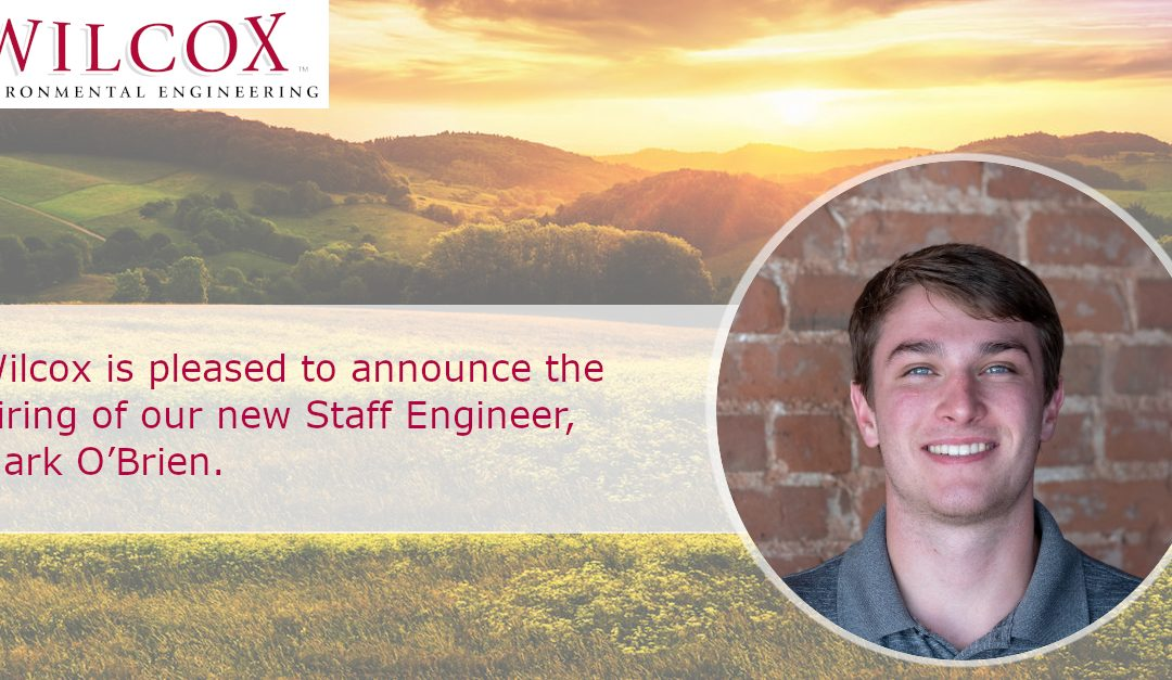 Wilcox is pleased to announce the hiring of our new Staff Engineer, Mark O'Brien.