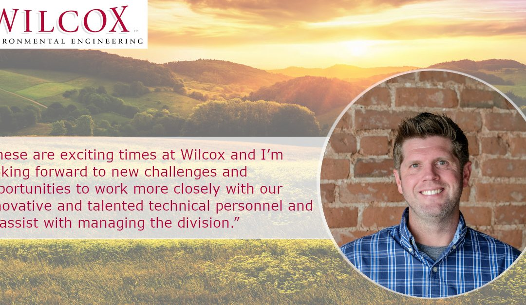 Wilcox is pleased to announce the promotion of Jeremy Kinman to Associate Technical Director.
