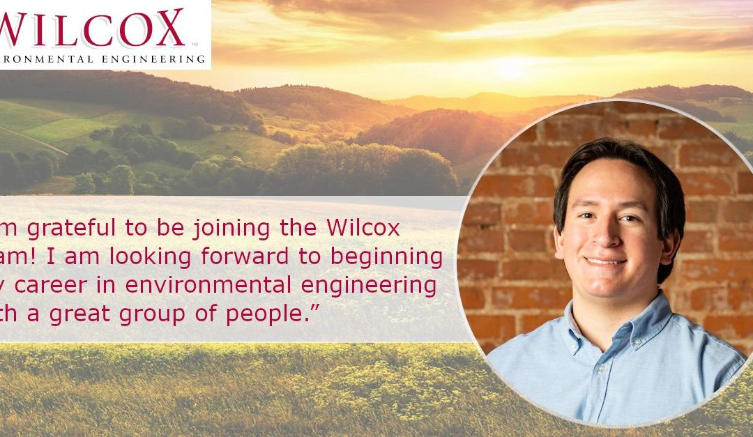 Wilcox is pleased to announce the hiring of our new Field Geologist, Johan Londono.