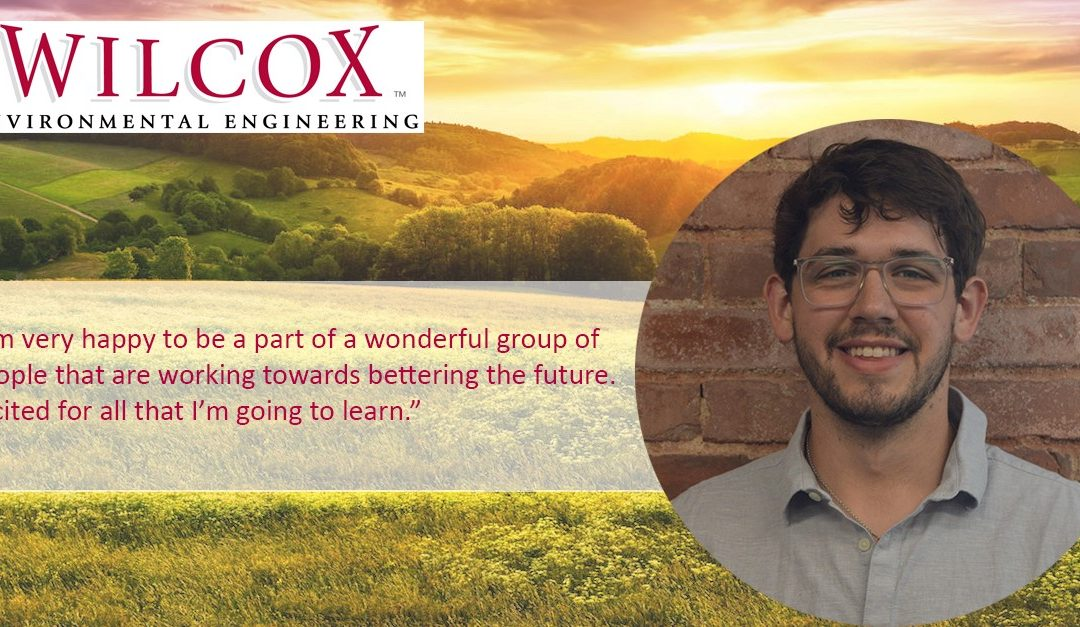 Wilcox is Pleased to Announce the Hiring of Our New Field Scientist, Chaz Rhodes.